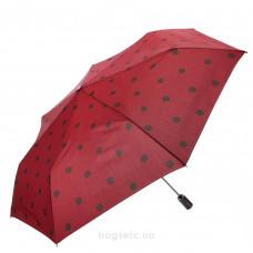 Зонт женский автомат Clima M&P (56/7) красный/горошек (5784.0910)