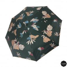 Зонт женский автомат Clima M&P (54/8) зеленый/цветы (5887.6010)