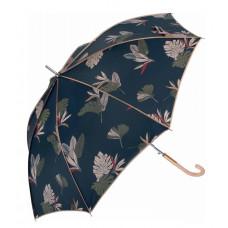 Зонт женский автомат Clima M&P (54/8) синий/цветы (5887.8700)