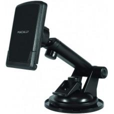Автотримач Macally універсальний для смартфонів з регульованим по довжині (15 см) кріпленням на поверхню, чорний (TELEMAG)