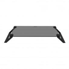 Подставка Macally универсальная для ноутбуков, мониторов, TV (до 18 кг), закаленное стекло и сталь (SPACESTAND-B)