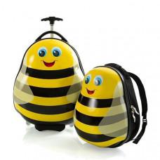 Набор Чемодан на 2-х колесах + Рюкзак Heys Travel Tots 13,8 л Bumble Bee (HE13030-3086-00)