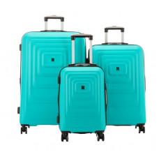Набор чемоданов на 4-х колесах IT Luggage Mesmerize Aquamic (IT16-2297-08-3N-S090)