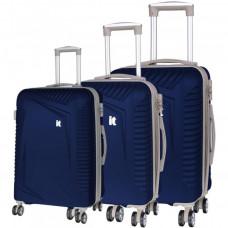 Набор чемоданов на 4-х колесах IT Luggage Outlook Dress Blues (IT16-2325-08-3N-S754)