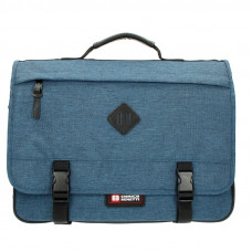 Портфель А4 на одне відділення Enrico Benetti Montevideo Jeans (EB54548 030)