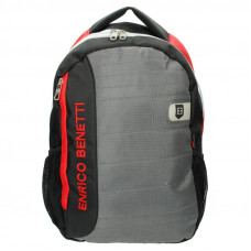 Рюкзак для ноутбука 15.6 Enrico Benetti Montserrat 25 л Black-Grey-Red (EB47070 064)