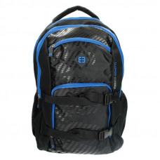 Рюкзак для ноутбука 17.3 Enrico Benetti Natal 35 л Black-Kobalt (EB47105 058)