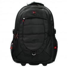 Рюкзак на колесах для ноутбука 17.3 Enrico Benetti Cornell 55 л Black (EB47085 001)