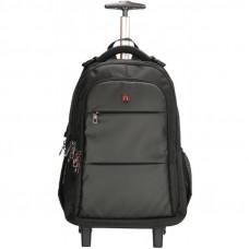 Рюкзак на колесах для ноутбука 17.3 Enrico Benetti Downtown 30 л Black (EB62064 001)