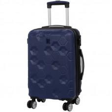 Чемодан на 4-х колесах IT Luggage Hexa 35 л Blue Depth (IT16-2387-08-S-S118)