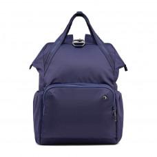 Жіночий рюкзак антизлодій Pacsafe Citysafe CX Backpack, 6 ступенів захисту, темно-синій
