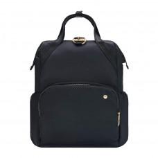 Жіночий рюкзак антизлодій Pacsafe Stylesafe, 6 ступенів захисту, чорний
