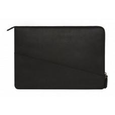 Кожаный чехол-папка Decoded Waxed Slim Sleeve для 15 Macbook, черная