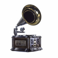 Грамофон Daklin Лондон антикварний дуб (RP-013B)