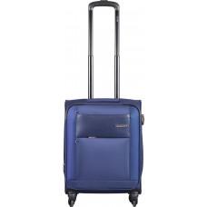 Чемодан на 4-х колесах Carlton Martin (55см/40л) темно-синий (135J455.030)