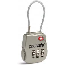 Замок кодовый для багажа Pacsafe Prosafe 800 серебристый