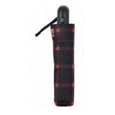 Зонт мужской автомат (54/8) Clima Bisetti темно-красный/клетка (3246.0910)
