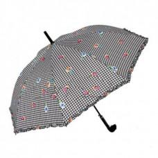 Зонт-трость женский автомат (61/8) Perletti в ассортименте (fashion клетка) (25444.00)