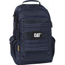Рюкзак CAT Combat Visiflash (22 л) с отделением для ноутбука 15.6 черный/темно-синий (83393.230)