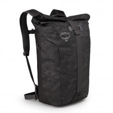 Рюкзак Osprey Transporter Roll Camo Black - O/S - черный