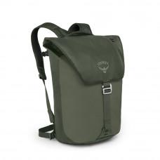 Рюкзак Osprey Transporter Flap Haybale Green - O/S - зеленый
