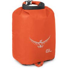 Гермомешок Osprey Ultralight Drysack 6L Poppy Orange - оранжевый