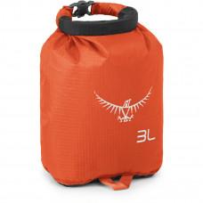Гермомешок Osprey Ultralight Drysack 3L Poppy Orange - оранжевый