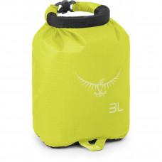 Гермомешок Osprey Ultralight Drysack 3L Electric Lime - зеленый