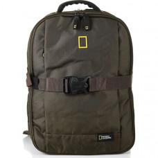 Рюкзак с отделением для ноутбука (RFID карман) National Geographic Recovery хаки (N14108.11)