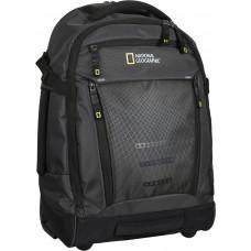 Рюкзак на колесах с отделением для ноутбука (RFID карман) National Geographic Trail черный (N13414.06)