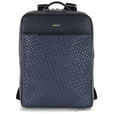 Рюкзак кожаный Adpel Acciaio Versus синий (2831B)