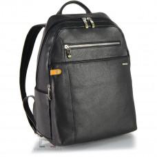 Рюкзак кожаный Adpel Acciaio Touch черный (2316N)