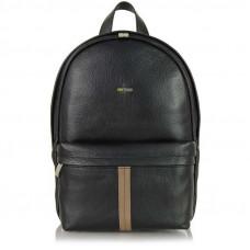 Рюкзак кожаный Adpel Acciaio Formula черный (2213N)