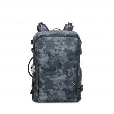 Рюкзак Pacsafe Maxi антивор Vibe 40, 7 степеней защиты, черный камуфляж
