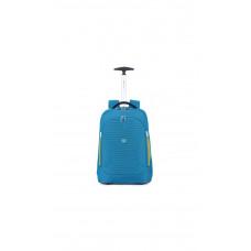 Рюкзак с отделением для ноутбука на колесах Roncato City Break 25 л петроль (41462888)