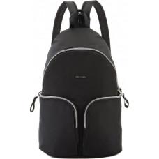 Жіночий рюкзак антизлодій Stylesafe, 6 ступенів захисту, чорний