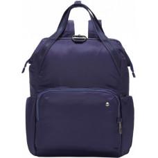 Женский рюкзак антивор Citysafe CX Backpack, 6 степеней защиты, темно-синий