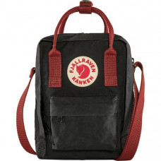 Сумка Fjallraven Kanken Sling Black/Ox Red (23797.550-326)