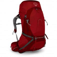 Рюкзак Osprey Atmos AG 50 Rigby Red MD красный