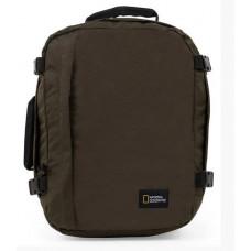 Рюкзак-сумка с отделением для ноутбука National Geographic Hybrid хаки (N11802.11)