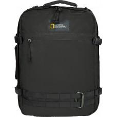 Рюкзак-сумка з відділенням для ноутбука National Geographic Hybrid чорний (N11801.06)
