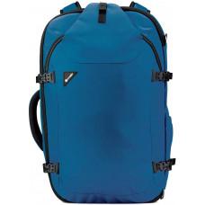 Рюкзак-сумка для путешествий, формат Maxi, антивор Venturesafe EXP45, 3 степени защиты, темно-синий