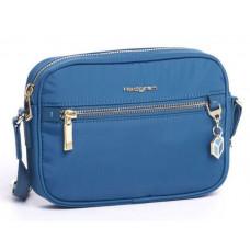 Женская сумочка через плечо Hedgren Charm бирюза (HCHM01/384)