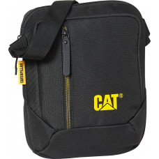 Сумка на плечо CAT the Project (2 л) с отделением для планшета черная (83614.01)