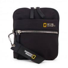 Сумка на плечо вертикальная (кросс-боди) National Geographic Research черная (N16181.06)