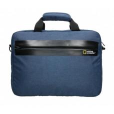 Сумка на плечо с отделением для ноутбука National Geographic Stream синяя (N13106.39)