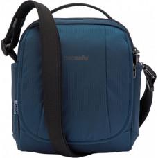 Сумка через плечо, вертикальная, антивор Metrosafe LS200, 6 степеней защиты, темно-синий