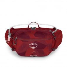 Сумка на пояс Osprey Seral molten red O/S красная