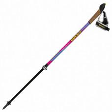 Палки для скандинавской ходьбы Vipole Vario Top-Click QL Violet DLX P19427