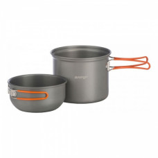 Набір посуду Vango Hard Anodised Cook Kit 1 Person Grey